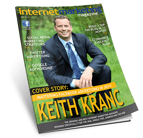 Cover of Internet Marketing Magazine, May issue