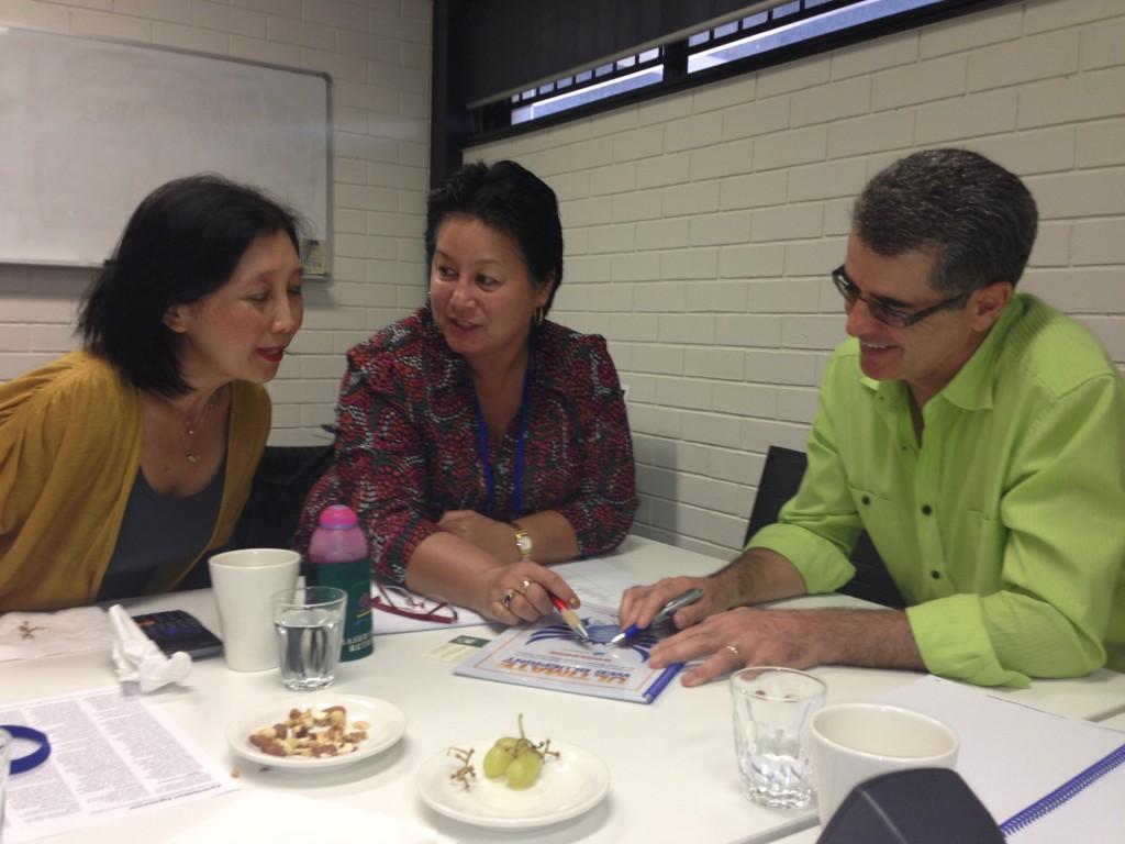 participants talk about marketing