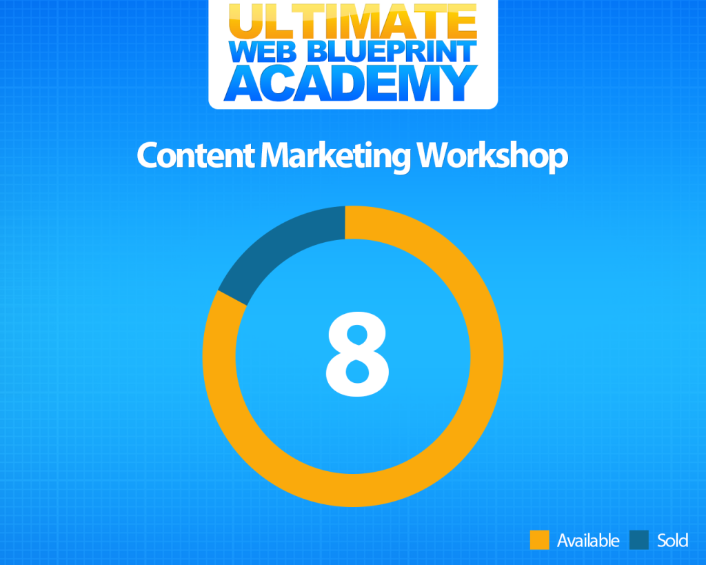 Ultimate Web Blueprint Academy - 8 tickets left